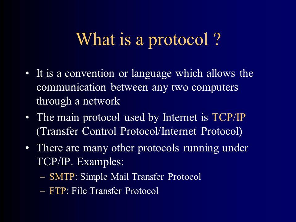 Uniform Resource Locator http://www.nlm.nih.gov/visible/sample.htm ProtocolHost DirectoryFile Address format for the WWW:
