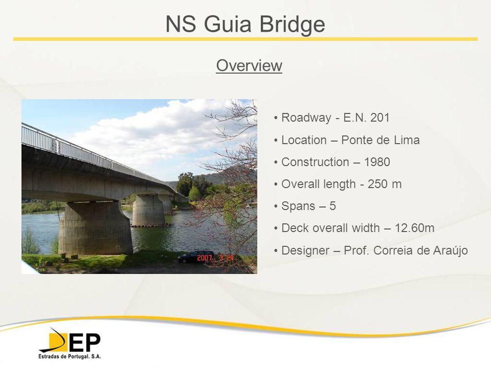 NS Guia Bridge Overview Roadway - E.N.