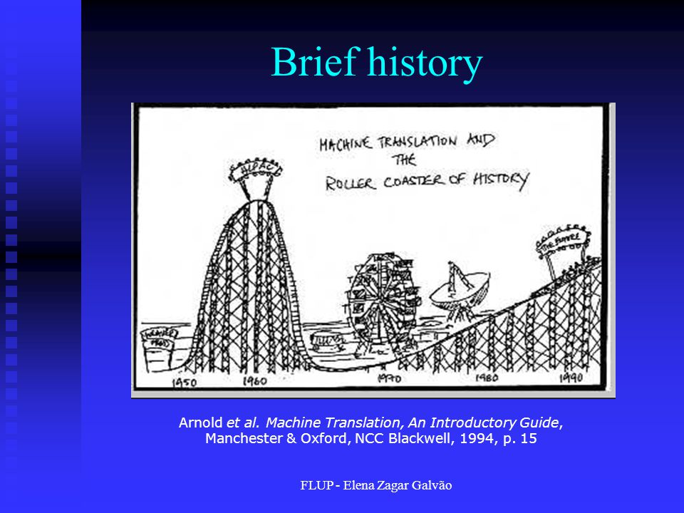 FLUP - Elena Zagar Galvão Brief history Arnold et al.