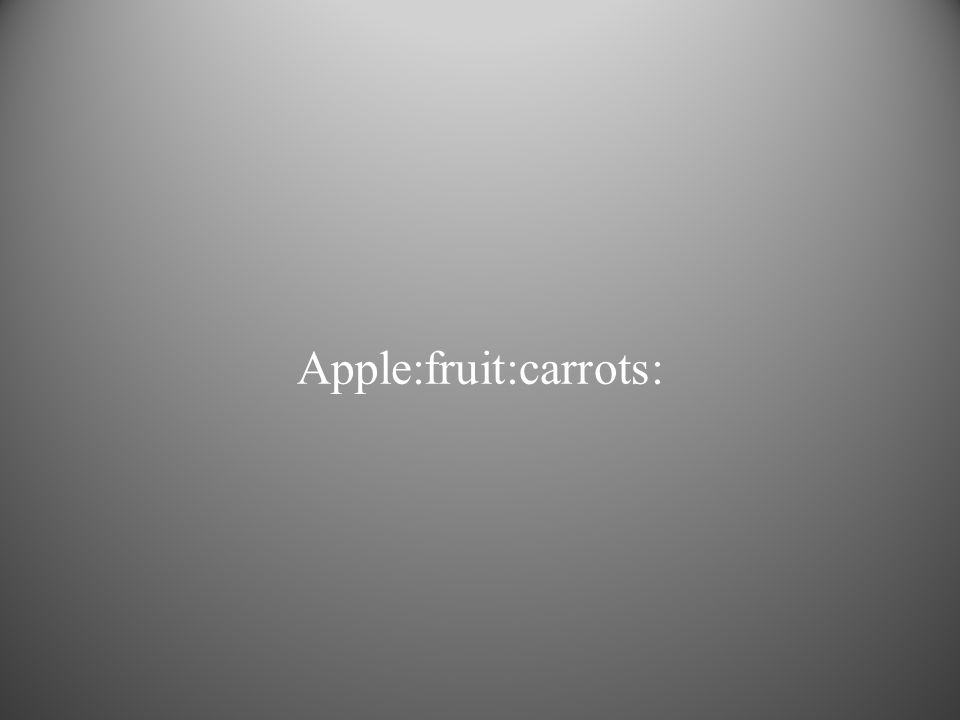 Apple:fruit:carrots: