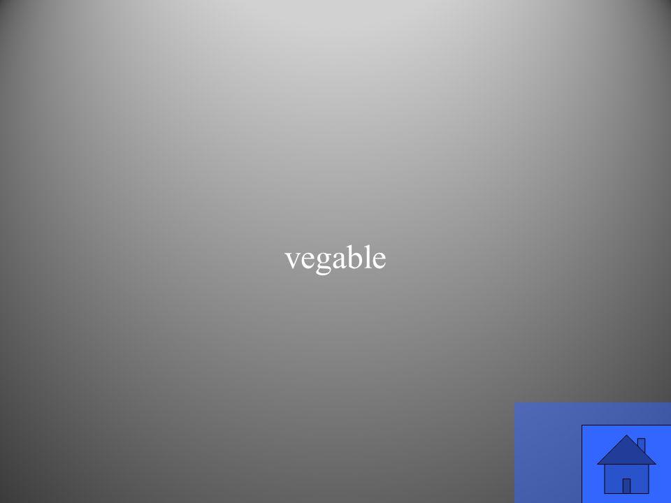 vegable