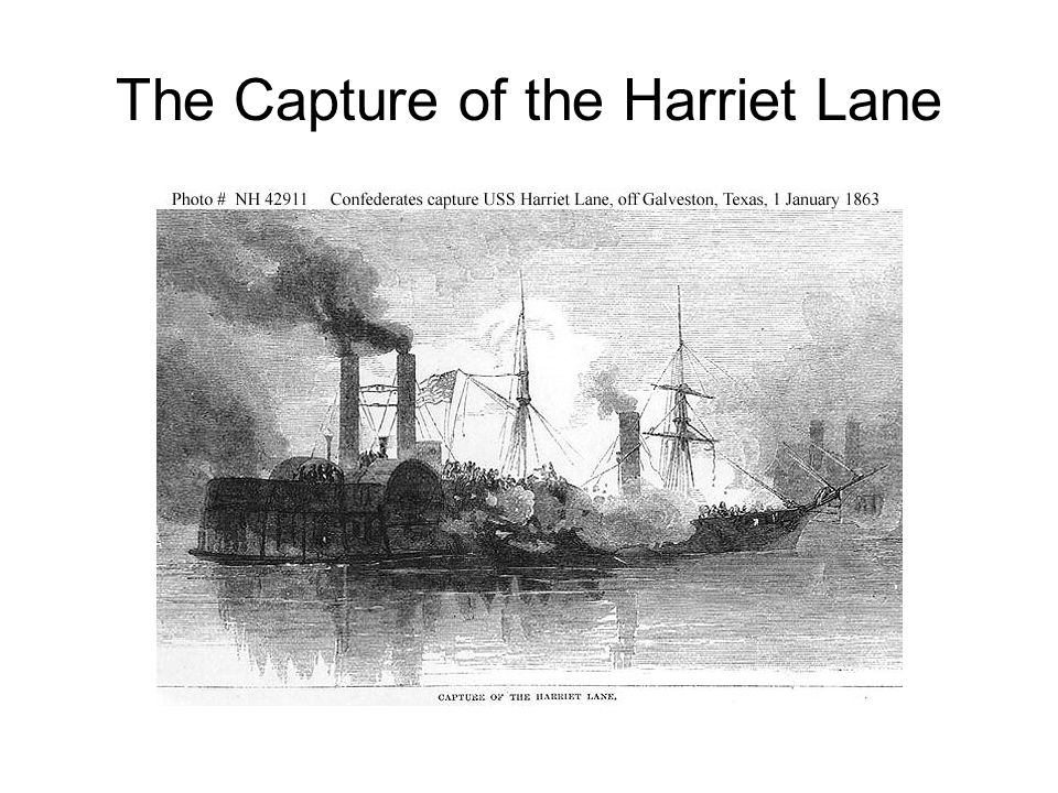 The Capture of the Harriet Lane