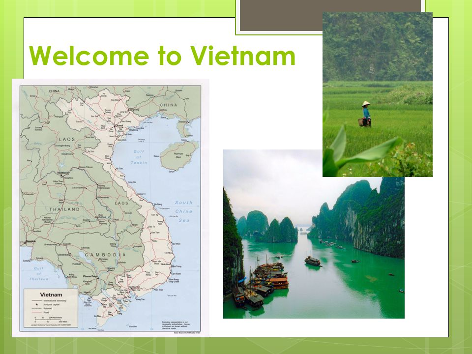 Vietnam - French Colony  Vietnam was originally part of a larger French colony called Indochina.