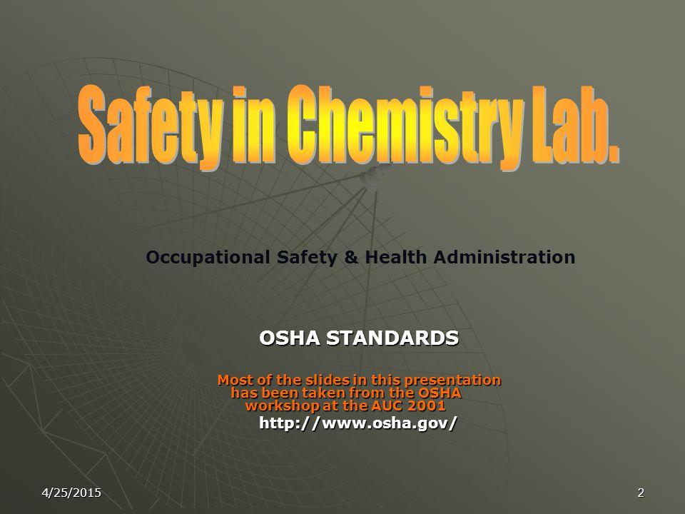 4/25/20151 Presented By Dr. Siham Y. AlQaradawi Associate Prof. of Organic Chemistry At Qatar University 19 th May 2010