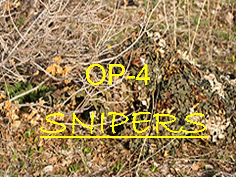 OP-4 SNIPERS