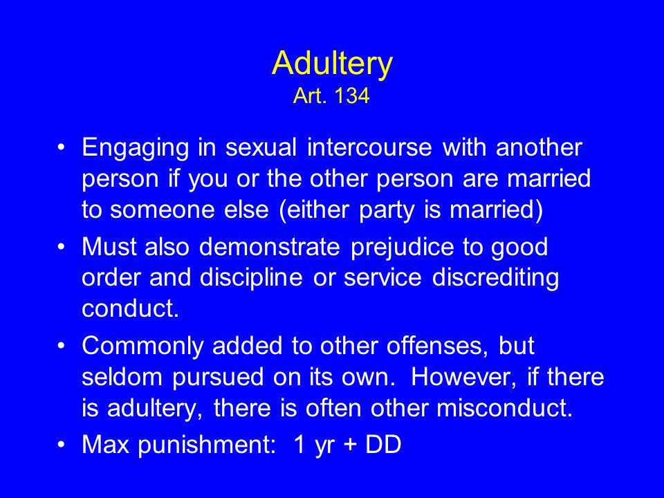 Adultery Art.
