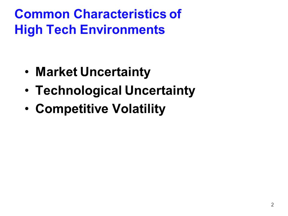 3 Market Uncertainty Consumer fear, uncertainty and doubt Customer needs change rapidly and unpredictably Customer anxiety over the lack of standards and dominant design Uncertainty over the pace of adoption Uncertainty over/inability to forecast market size Market Uncertainty is the ambiguity about the type and extent of customer needs that can be satisfied by a particular technology