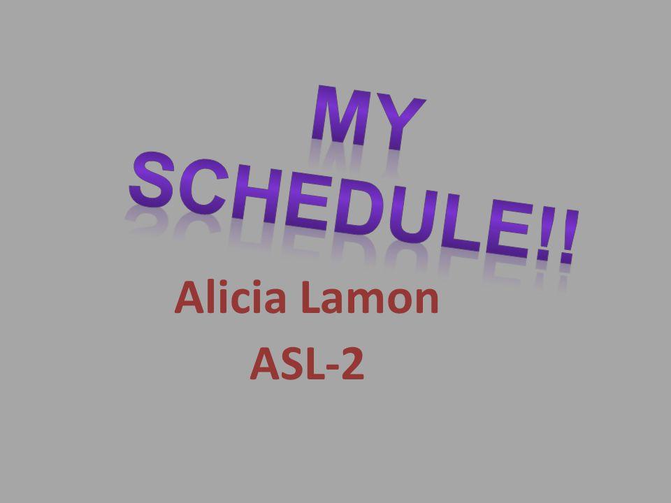 Alicia Lamon ASL-2