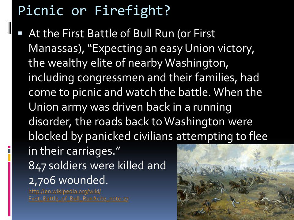 Picnic or Firefight.