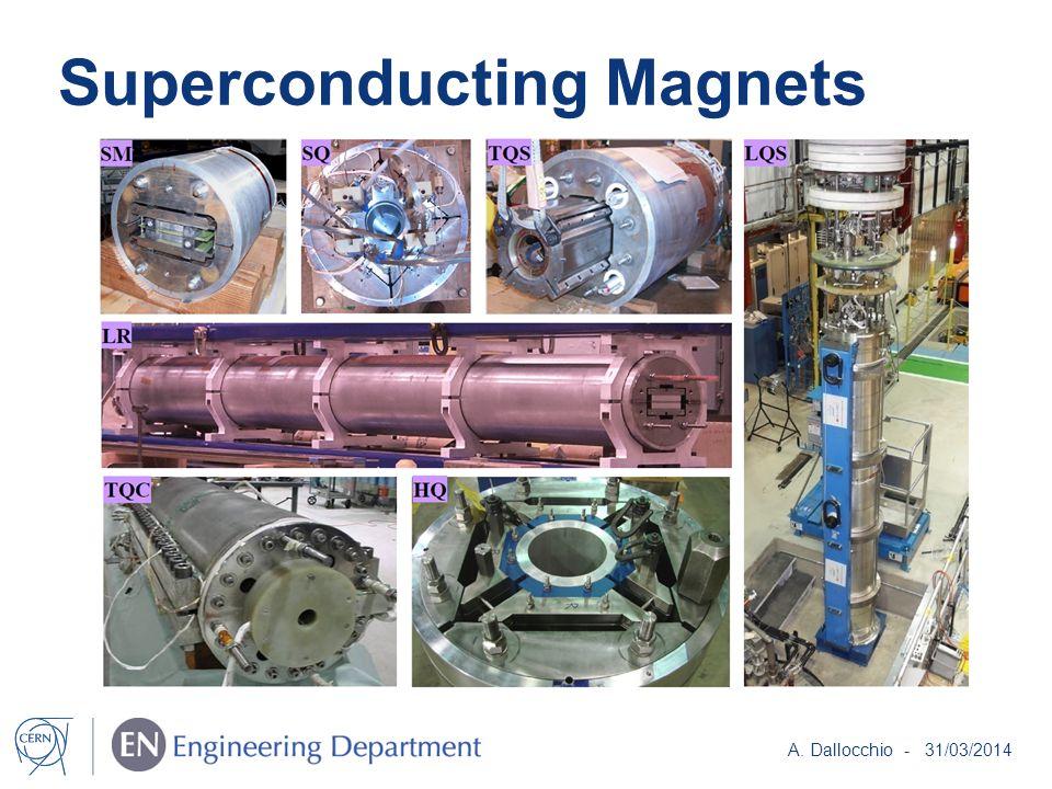 Superconducting Magnets A. Dallocchio - 31/03/2014