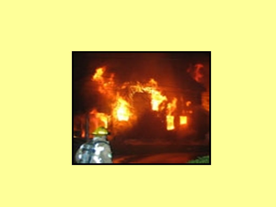 Inside the Scene (continued) How high are the flames What is the colour of the smoke –Is it dense, rate of buoyancy.
