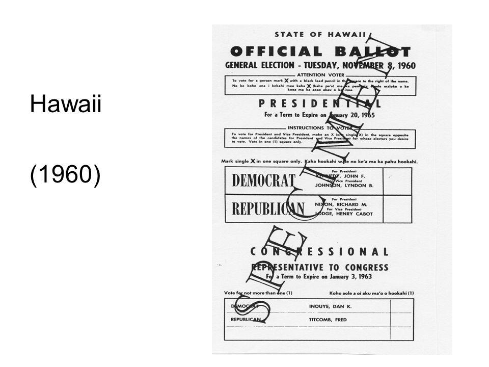 Hawaii (1960)