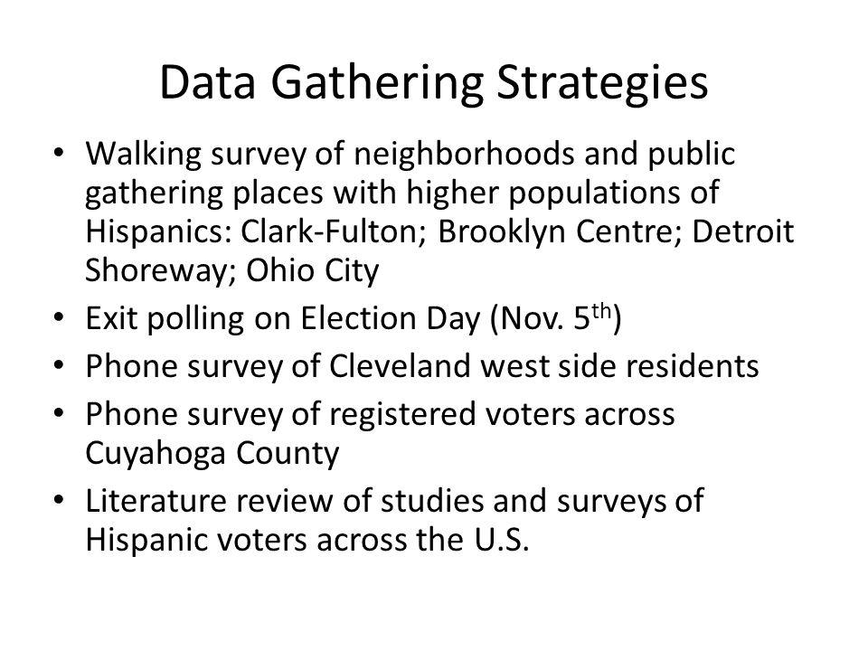 Exit Poll Survey Collection bi-lingual stations=694 surveys non-bilingual stations = 707 surveys