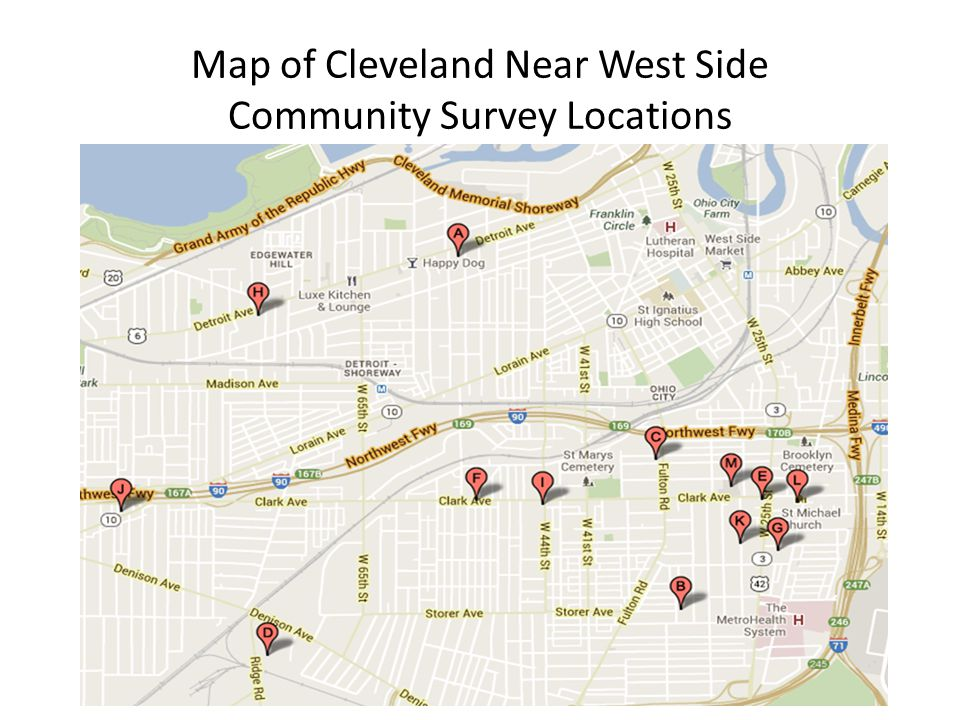 Cuyahoga County Residential Landline Phone Survey (11/12/13 – 11/26/13) 523 surveys completed 4.3% margin of error at 95% confidence level