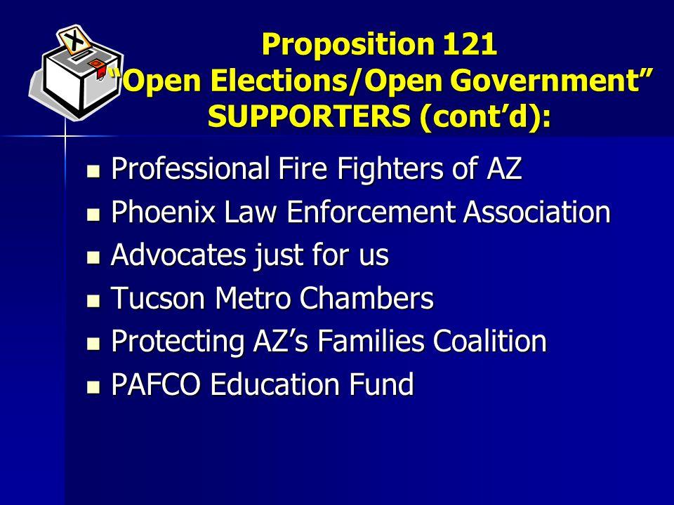 Professional Fire Fighters of AZ Professional Fire Fighters of AZ Phoenix Law Enforcement Association Phoenix Law Enforcement Association Advocates ju