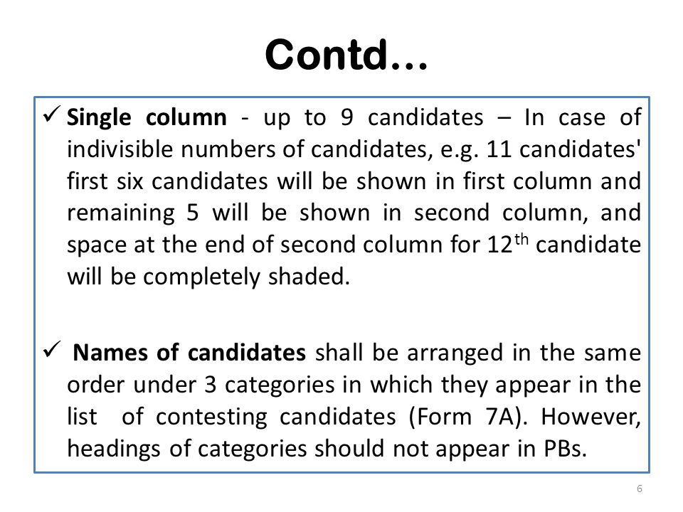 Contd…  Do not open (Form13B) containing the PB If declaration in Form 13A not found inside Form 13 B.