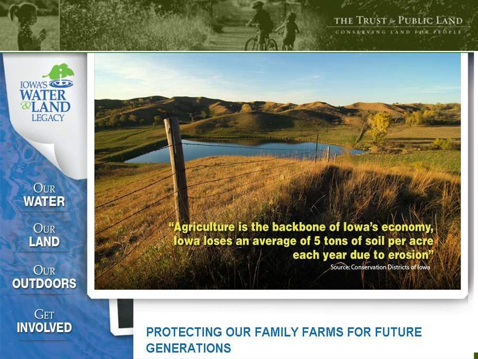 29 © Copyright The Trust for Public Land