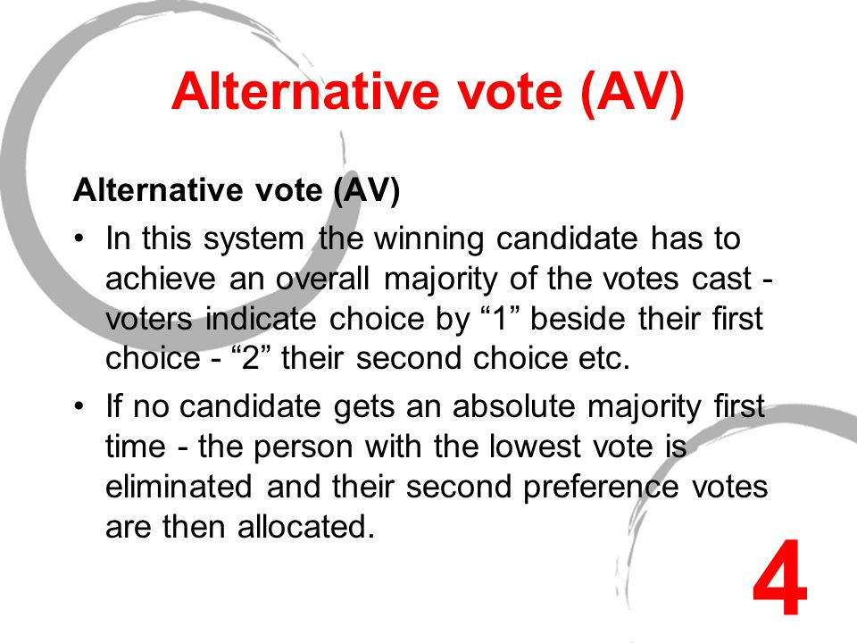 List systems … In CLOSED LIST systems voters can only vote for a party list or an individual candidate.