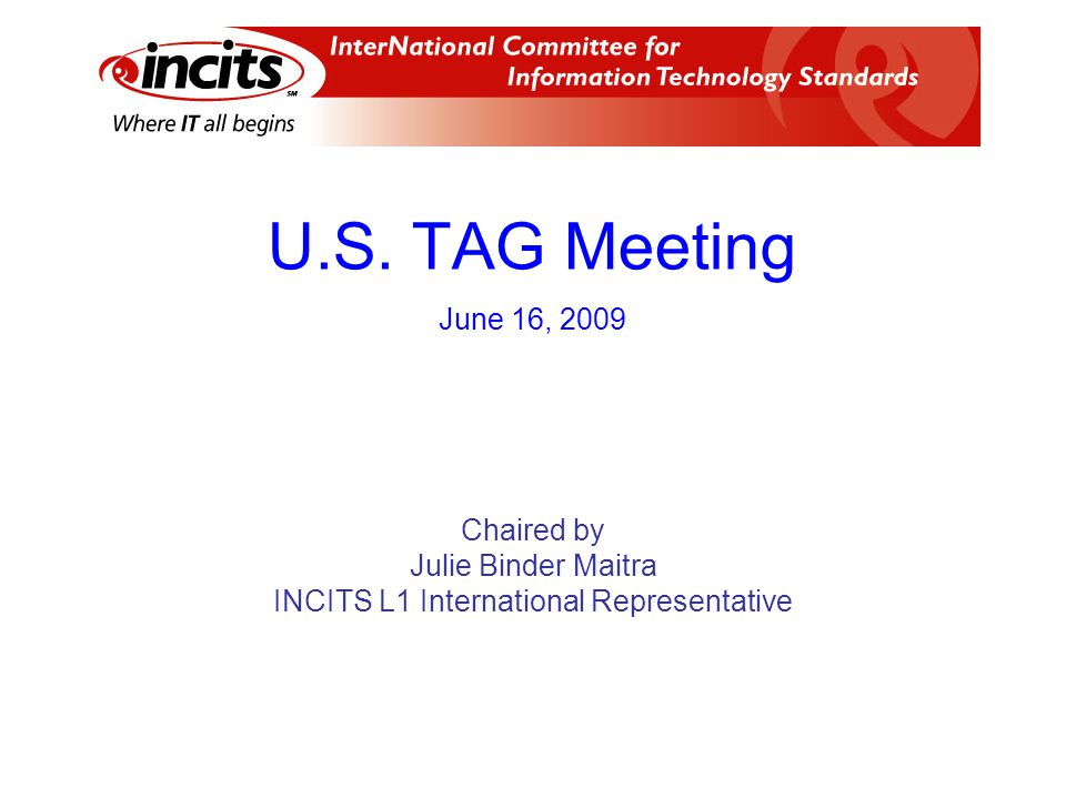 Topics Call to order Roll call Approval of agenda Ballots since May 12, 2009 U.S.