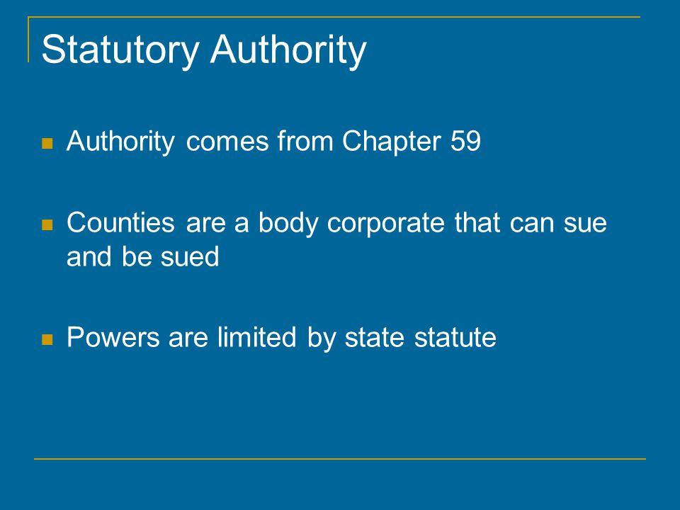 Administrative Home Rule Sec.