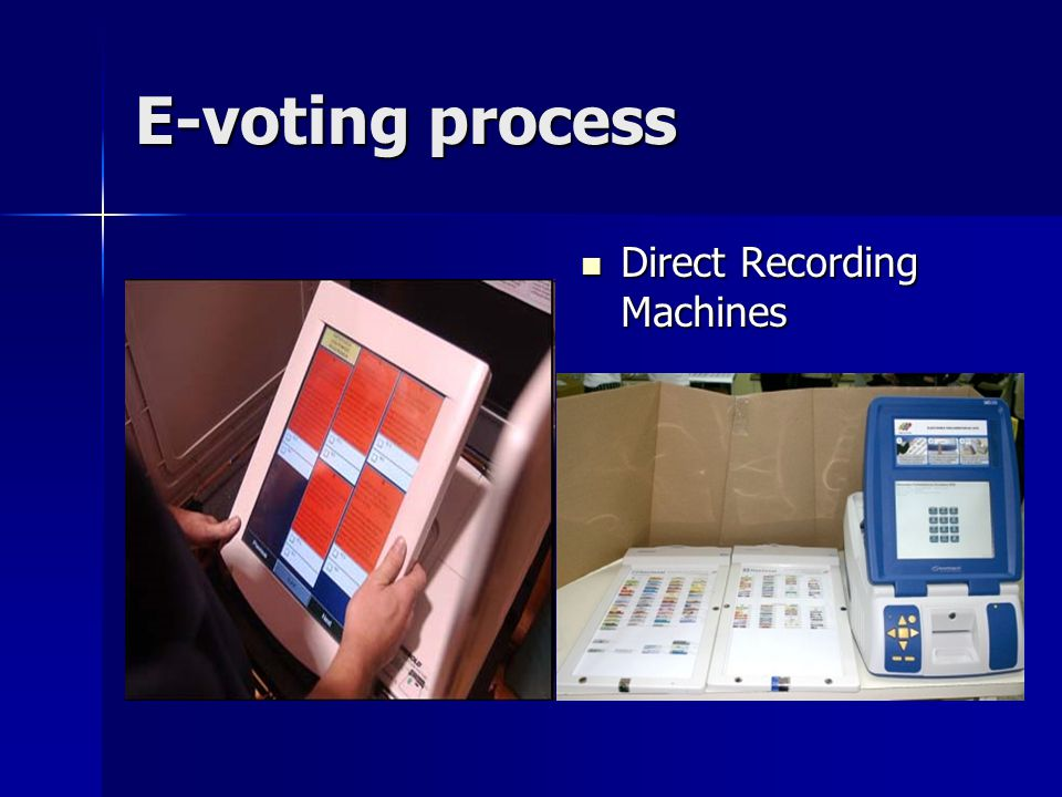 Case Study: Estonia Electronic ID card is used to identify the voter