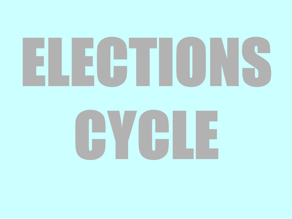 ELECTIONS CYCLE
