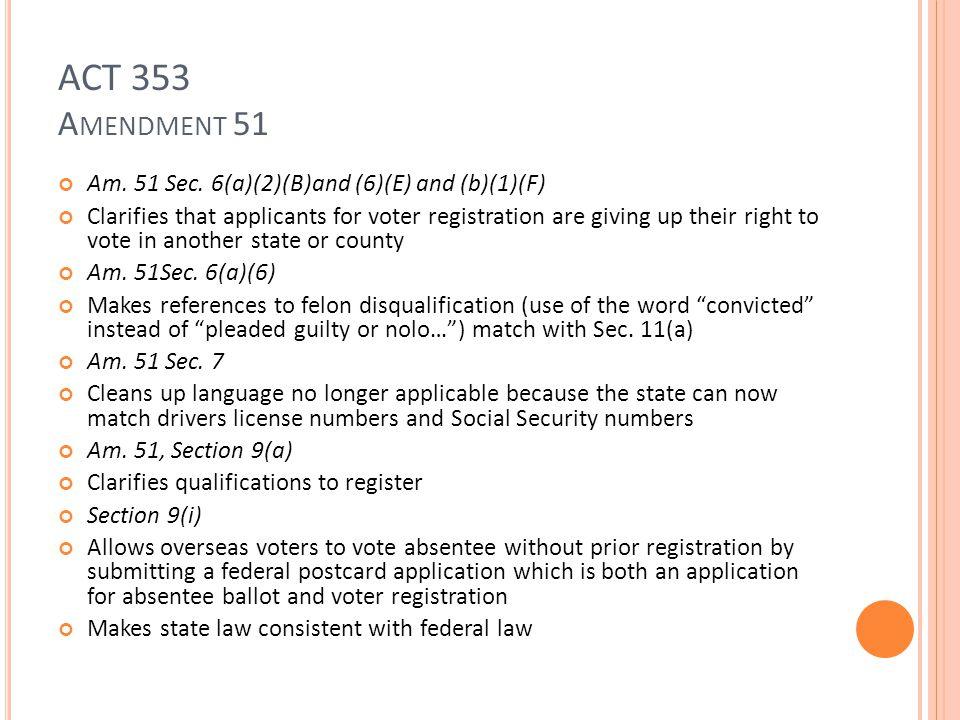 ACT 353 A MENDMENT 51 Am. 51 Sec.