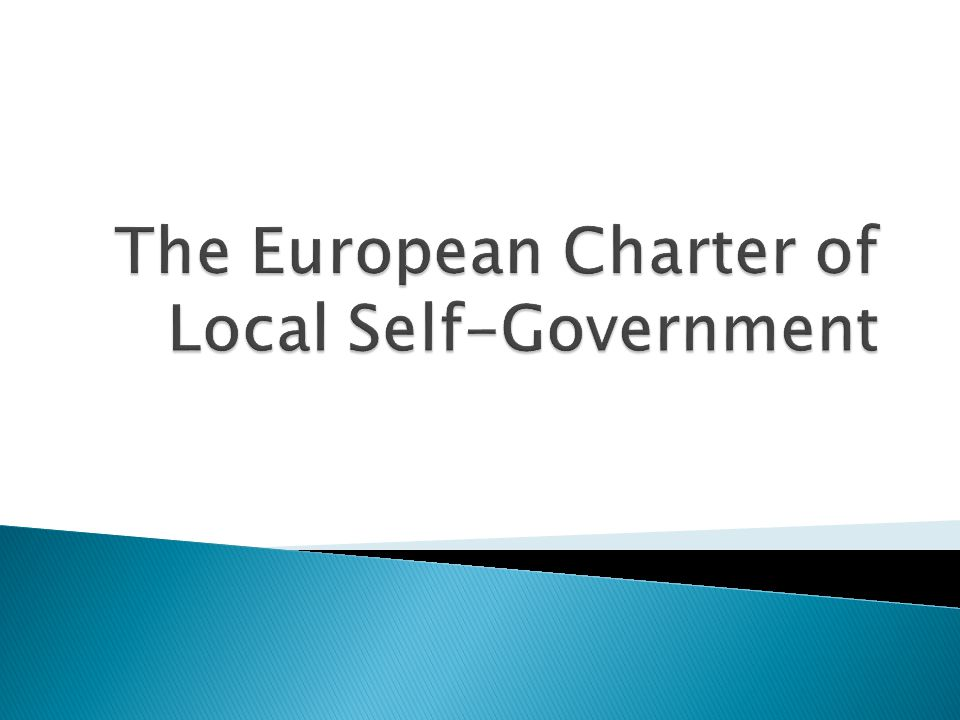  The principles of local self-government contained in the Charter apply to all categories of local authorities.