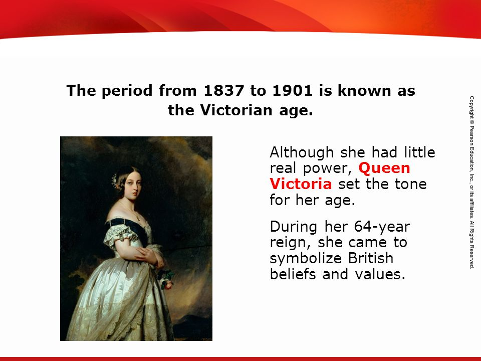 TEKS 8C: Calculate percent composition and empirical and molecular formulas. Although she had little real power, Queen Victoria set the tone for her a