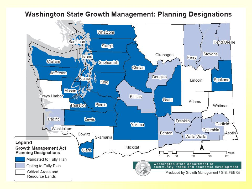 Washington's Triggered Planning Approach