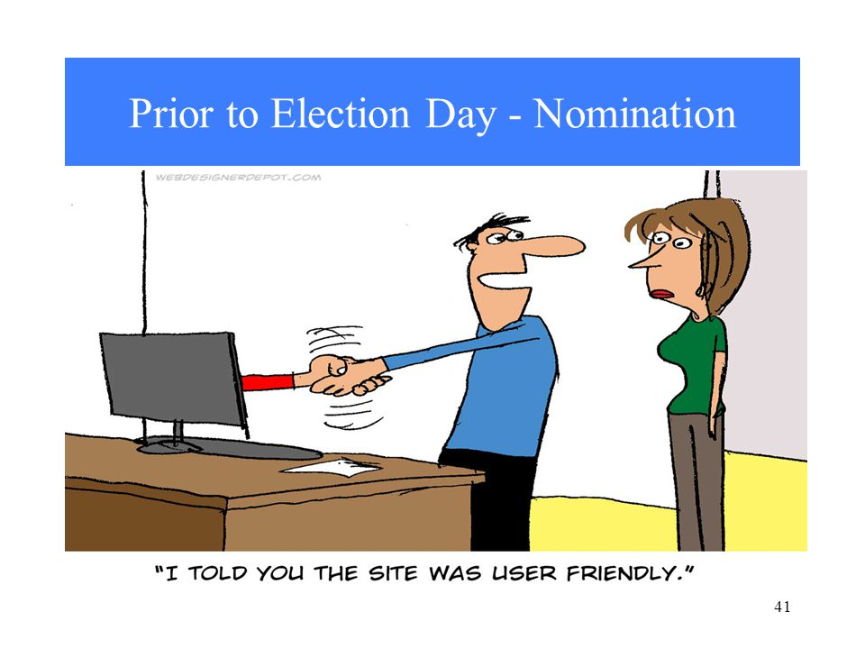 Prior to Election Day - Nomination 41