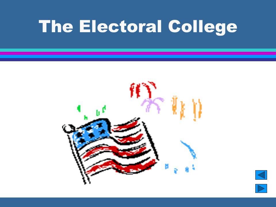 Amendments l 23rd Amendment gave the District of Columbia 3 electors for a total of 538.