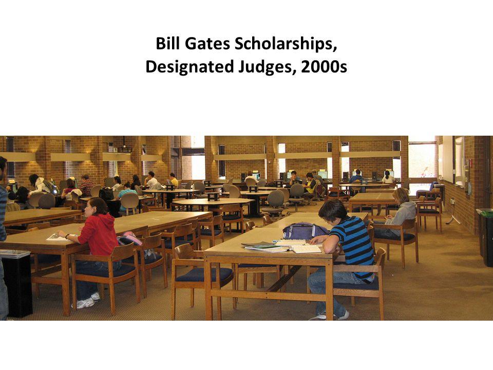 Bill Gates Scholarships, Designated Judges, 2000s