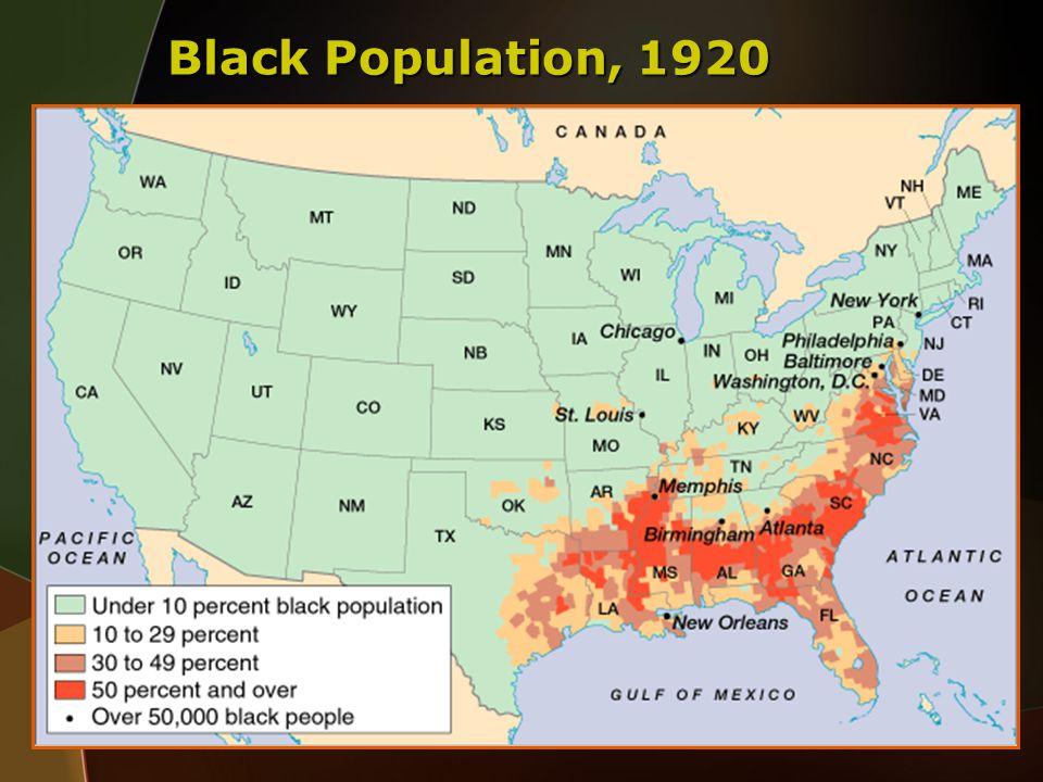 Black Population, 1920