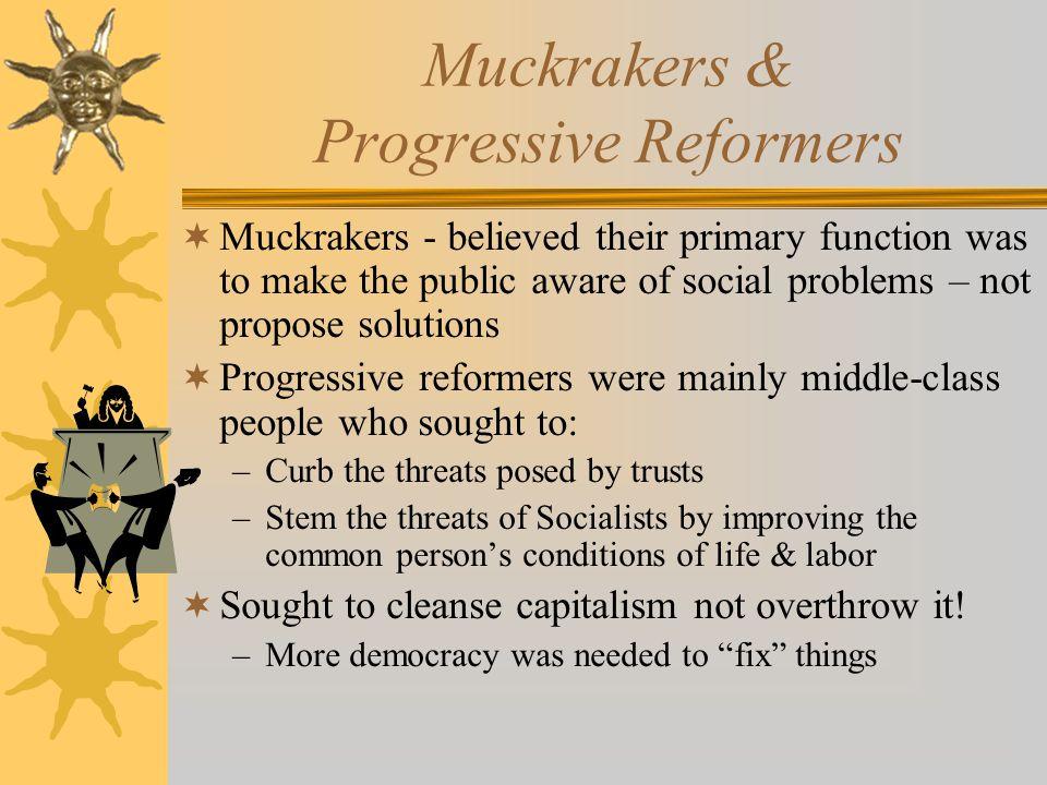 Political Progressivism  Direct primary – undercut party bosses  Initiative – voters could directly propose legislation.