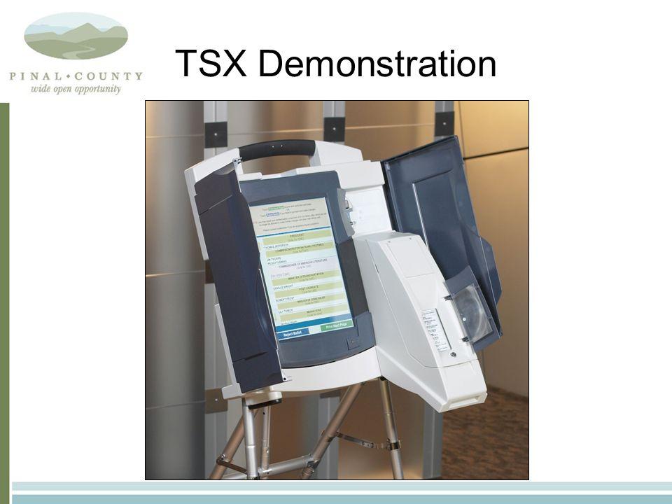 TSX Demonstration