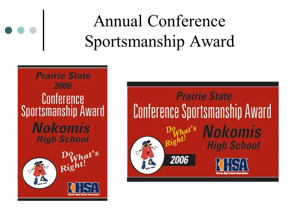 Annual Conference Sportsmanship Award