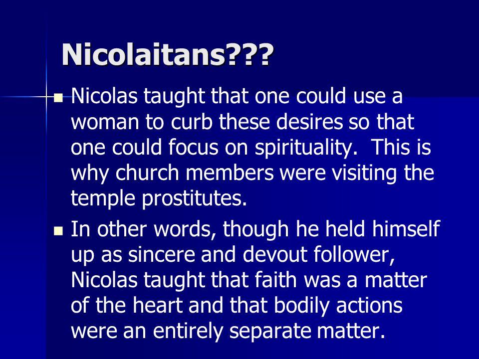 Nicolaitans .