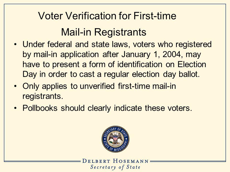 Affidavit Ballot Checklist #8 The affidavit ballot envelope is then sealed and placed in the ballot box.