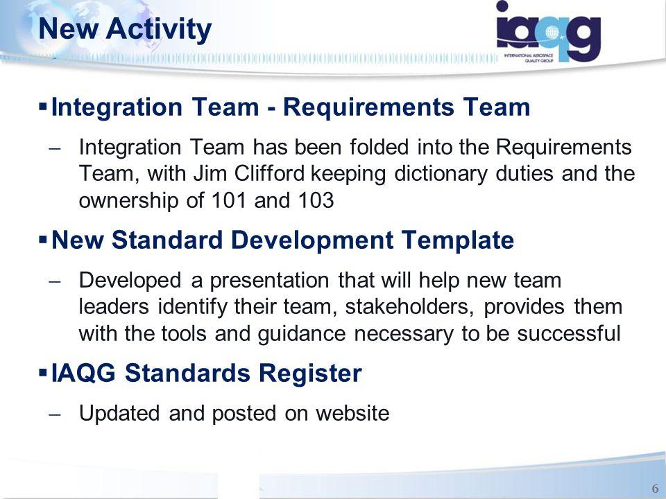 IAQG Standards 7