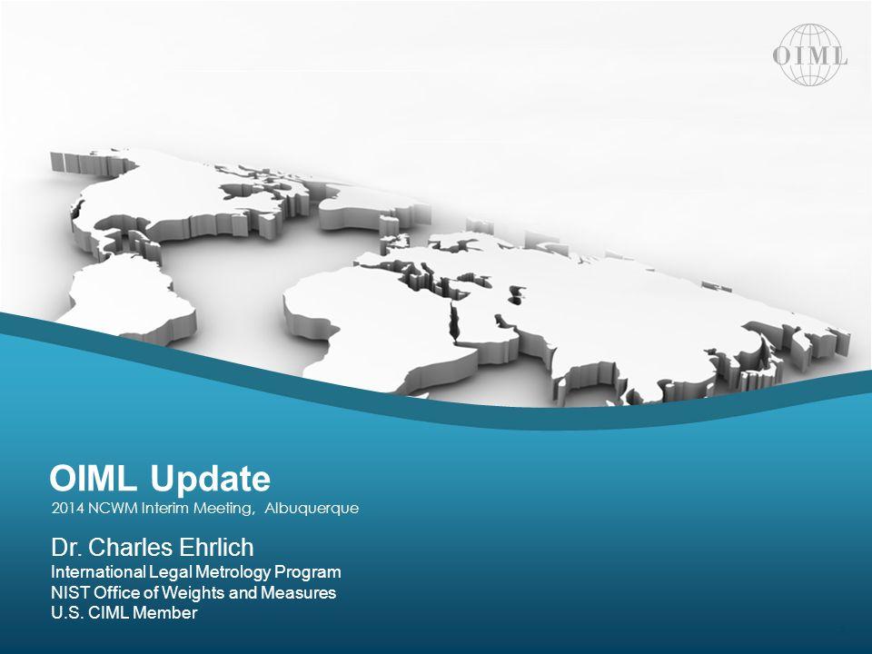 OIML Update | 2014 NCWM Interim Meeting 12 Thank You