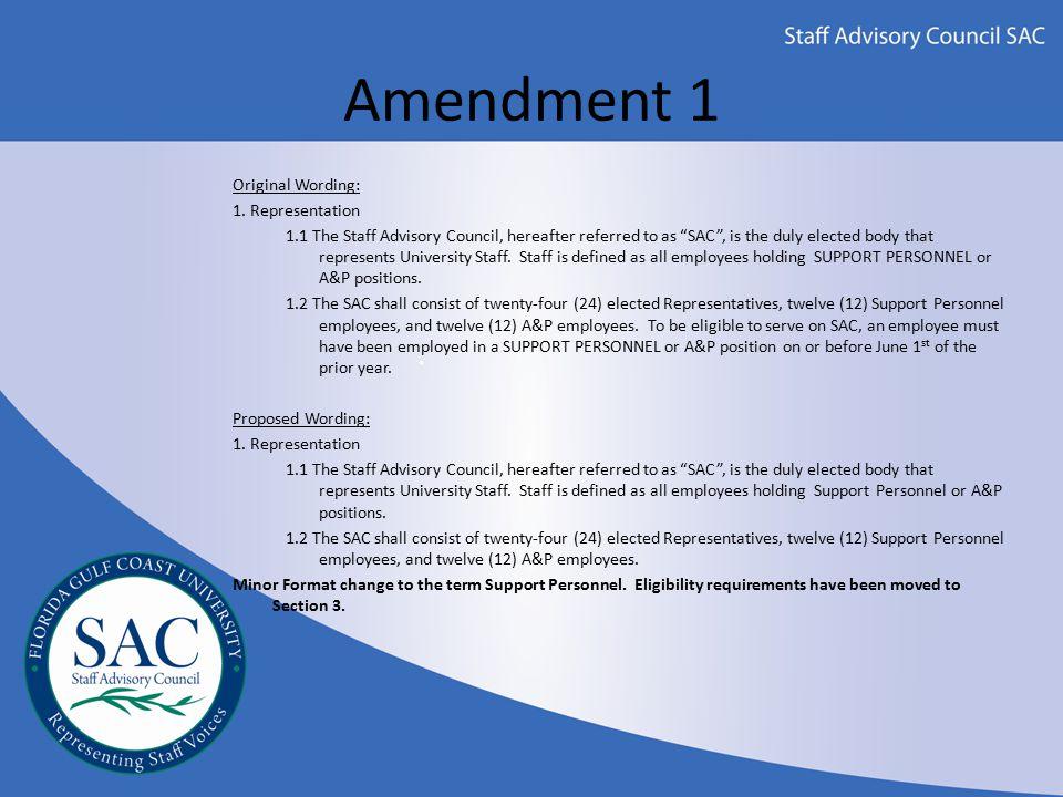 Amendment 2 Original Wording: 3.