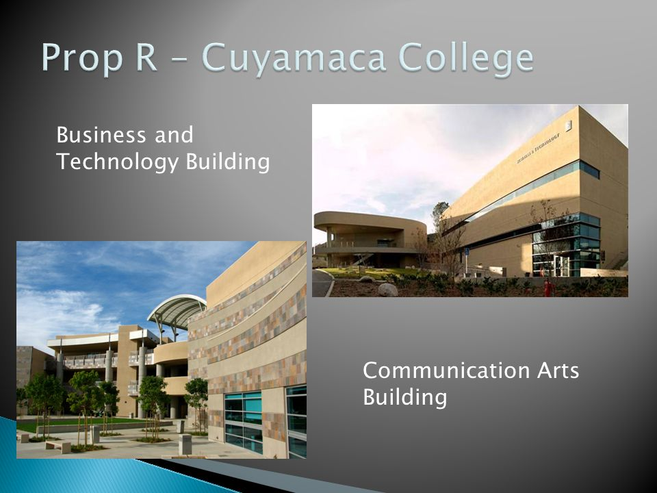 Business and Technology Building Communication Arts Building