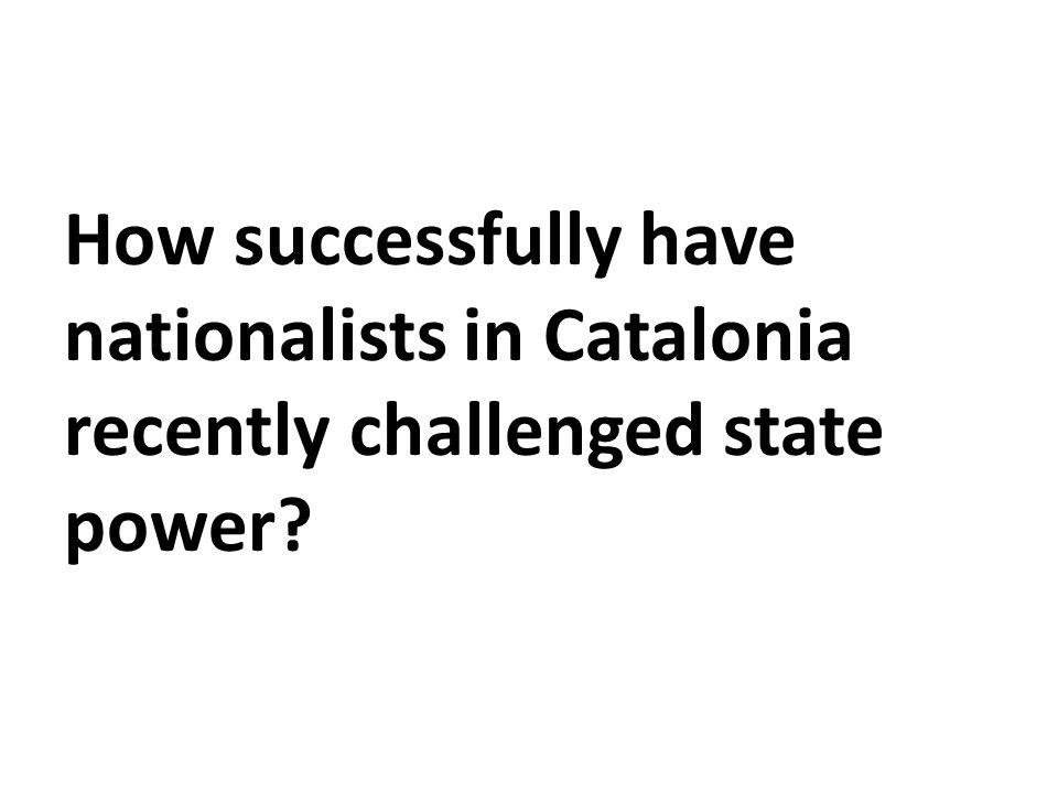 Spain and Catalonia Spanish