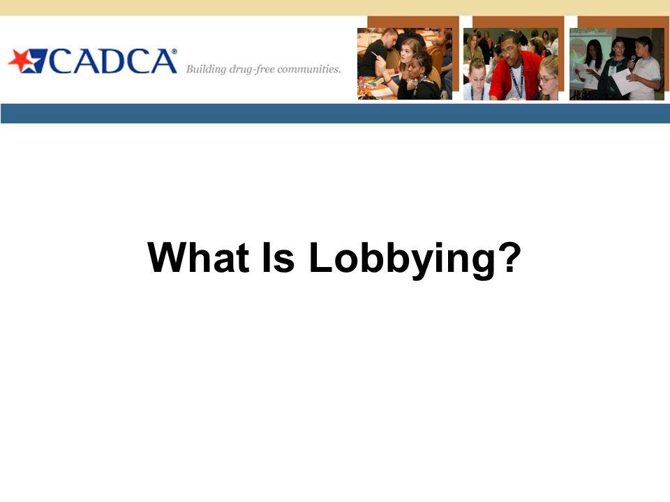 What Is Lobbying?