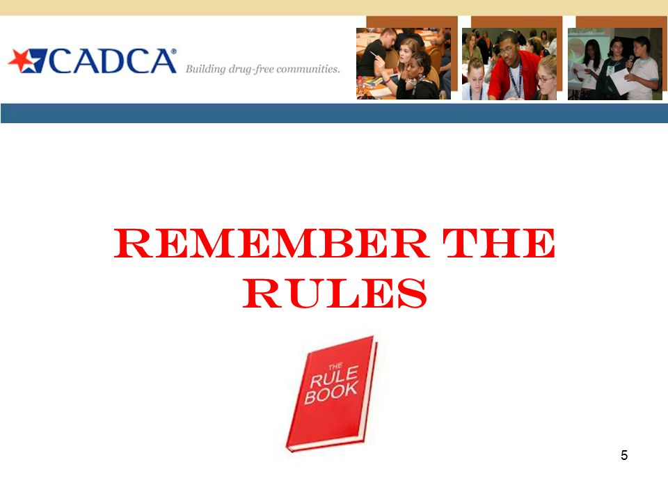 Remember The Rules 5