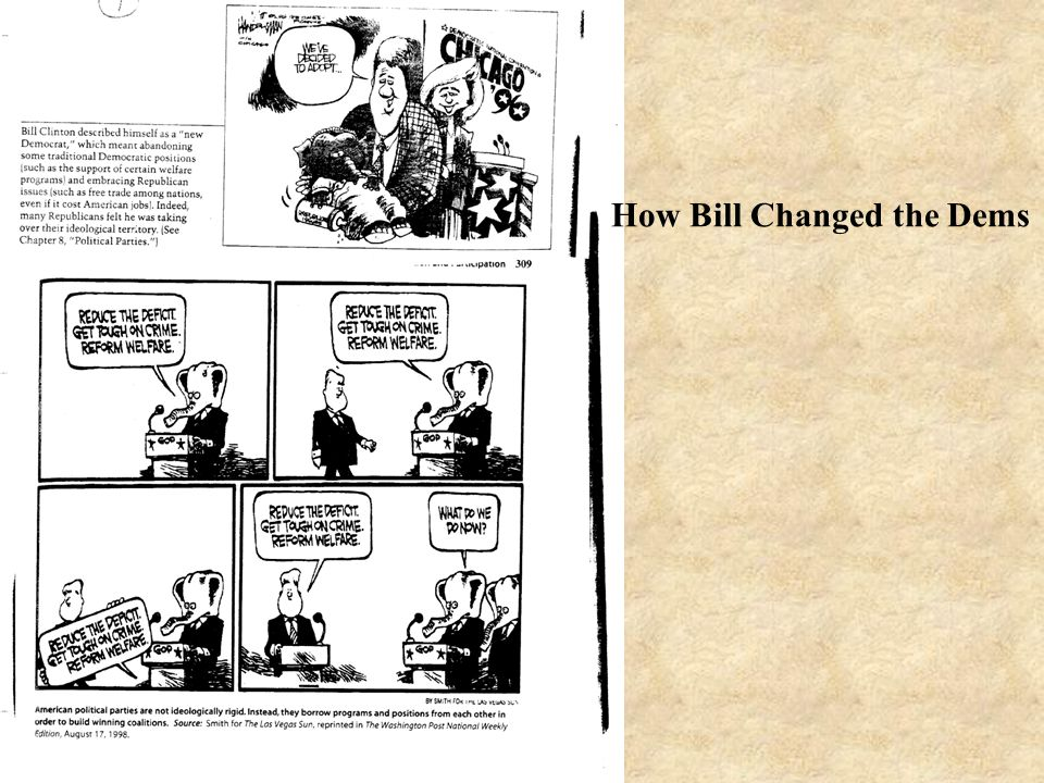 How Bill Changed the Dems