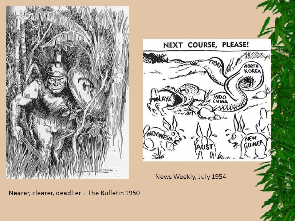 Nearer, clearer, deadlier – The Bulletin 1950 News Weekly, July 1954