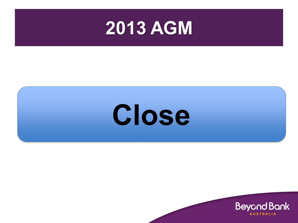 2013 AGM Close
