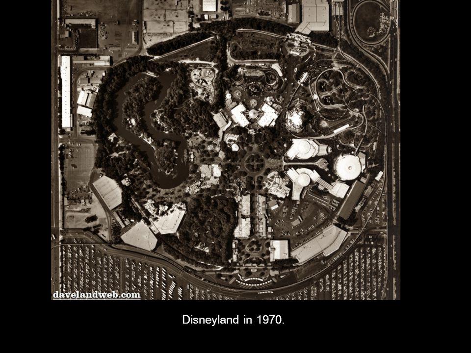 Disneyland in 1970.